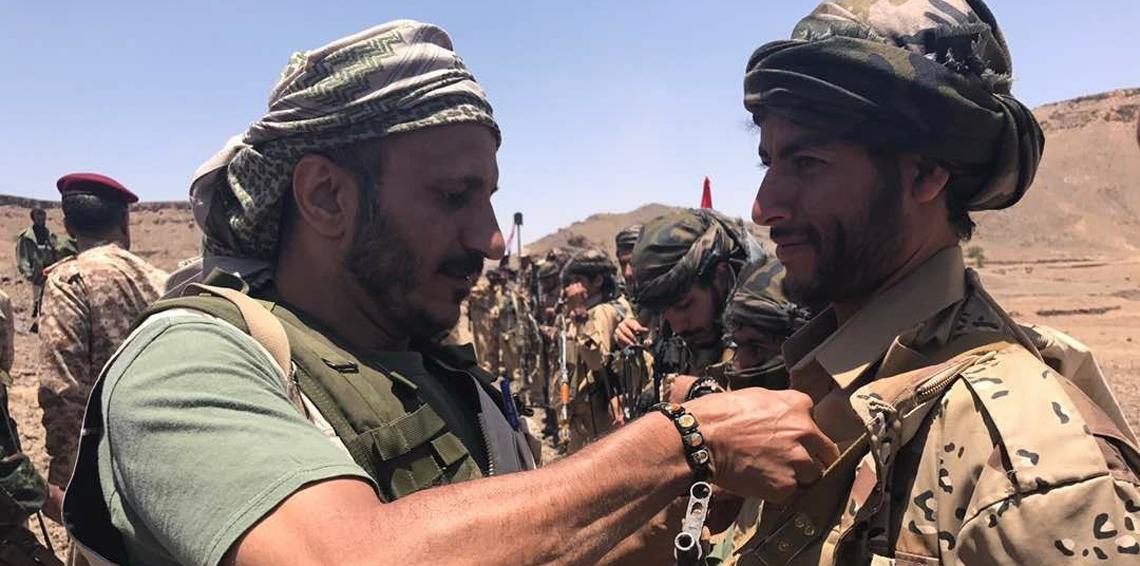 """""""تطور خطير""""قوات طارق عفاش تهدد قائد الحزام الأمني""""ابو اليمامة"""" وتتوعد بتلجيم الأصوات المتحدثة باسم الجنوب"""